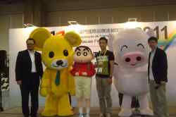 McDull's Performance on the stage